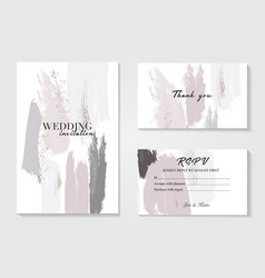 design templates in pastel grey pink colorsevent vector image