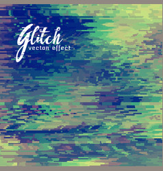 Glitch effect background for corrupt file vector