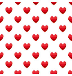Heart suit plying card pattern vector