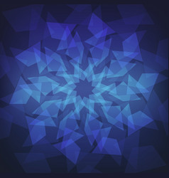 abstract light polygons background vector image