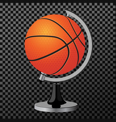 Ball a creative concept clean modern vector