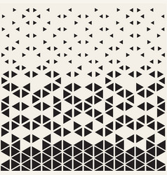 halftone pattern geometric seamless pattern with vector image