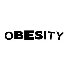 Obesity text vector