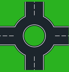 Roundabout vector