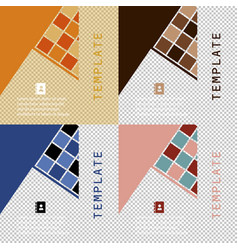 Set of minimal geometric covers design geometric vector