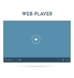 Webplayer UI Streaming vector