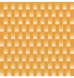 White square pattern on orange background vector image