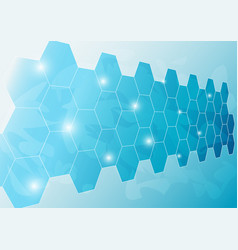 ice wall background vector image vector image