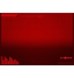 background of technology concept vector image