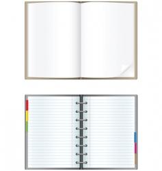 notebook vector image vector image