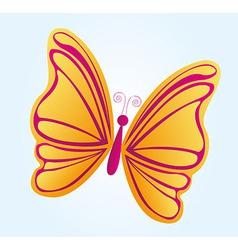 Beatiful butterfly vector