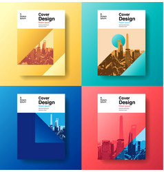 cover book designfuture business template vector image vector image
