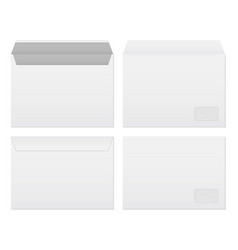 creative of white blank paper vector image