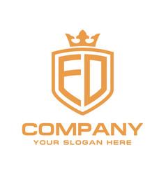 Ed logo vector