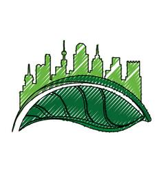 Green city environment vector