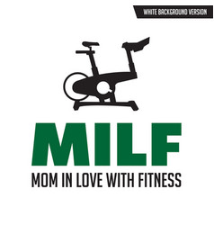 gym quote and saying good for your t-shirt design vector image