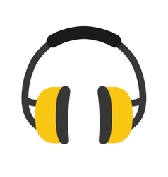 Industial earmufss equipment vector
