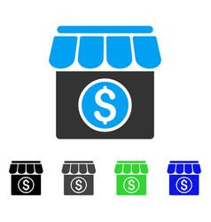 Market flat icon vector