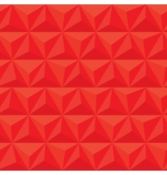 red geometric triangle seamless pattern vector image
