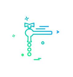 tap icon design vector image