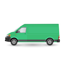 van side vector image
