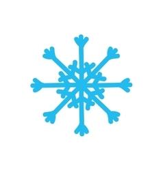 Snowflake icon Winter design graphic vector image