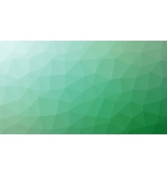 Abstract green gradient lowploly of many vector image