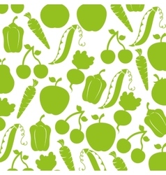 farm vegetables product icon vector image