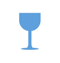 Glass icon vector