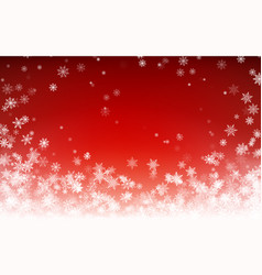 holiday winter background for merry christmas vector image