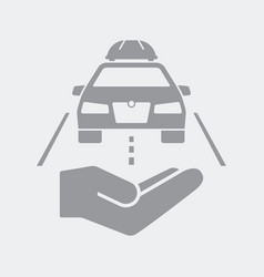 services for car tourists vector image