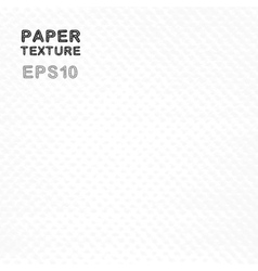Grunge white paper texture vector image