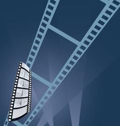 Film tape entertainment vector