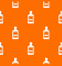 plastic bottle pattern seamless vector image vector image