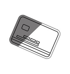 credit card finance vector image