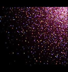 Abstract christmas vinous luminous background vector