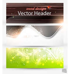 Banner Set for Businesses vector