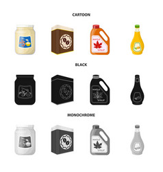 can and food icon vector image