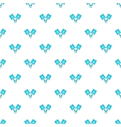 Car piston pattern cartoon style vector