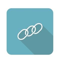 Chain icon square vector