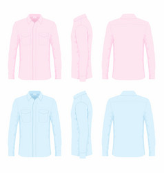 Dress shirts vector