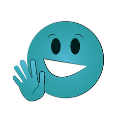 emoji instant messaging icon imag vector image