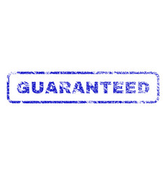 Guaranteed rubber stamp vector