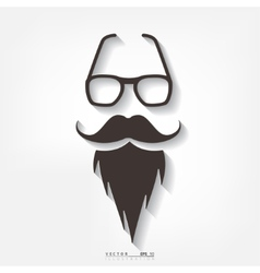 Hipster background Retro style vector