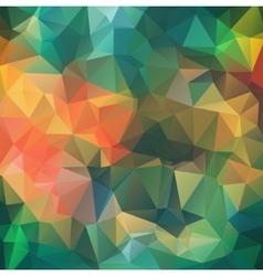 Retro multicolor composition with ceramic shapes vector image
