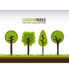 Ecology design vector image