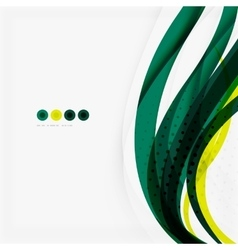 Shiny colorful abstract background green and blue vector