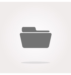 Folder Icon Folder Icon Picture Folder vector image