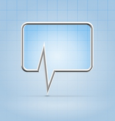 Medical forum application icon vector image vector image