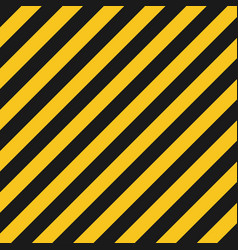 Hazard stripes texture industrial striped road vector